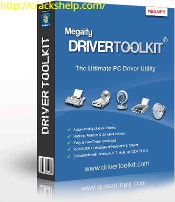 DriverToolkit 8.9 Crack With License Key Free Download [Win/Mac]