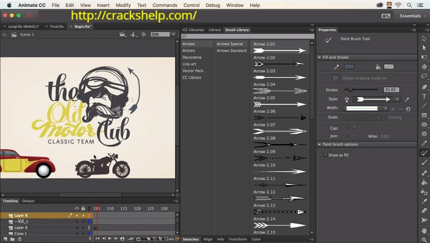 adobe animate CC download