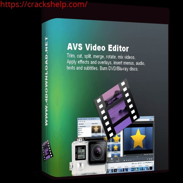 AVS Video Editor 9.4.1.360 Activation Key With Crack [Mac/Win]