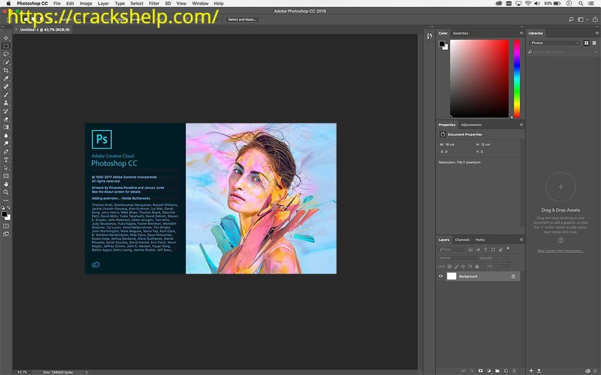 Adobe Photoshop CC 2018 download