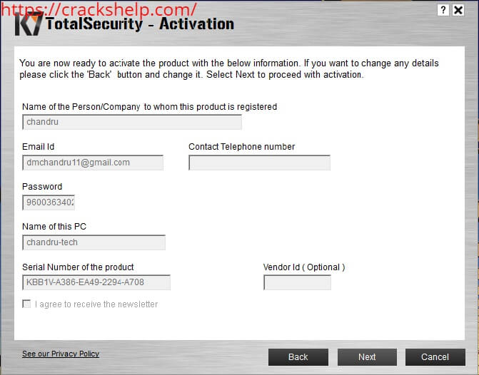 k7 total security download