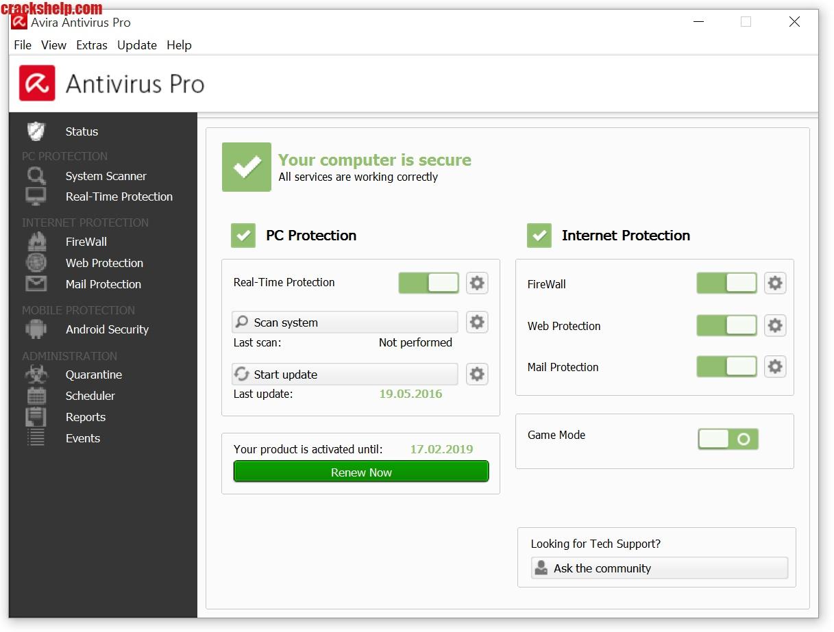 Avira Antivirus Pro download