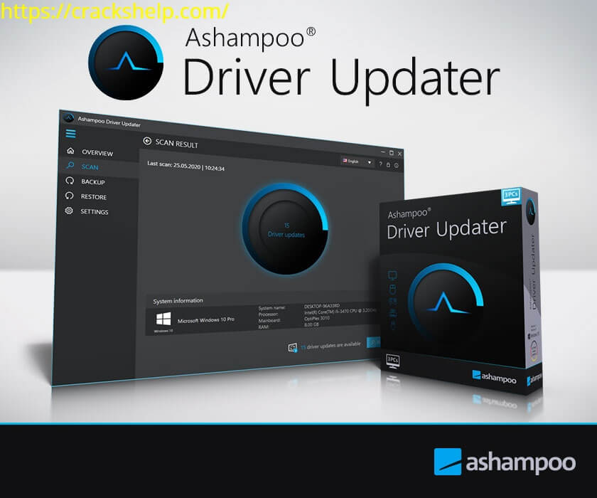 Ashampoo Driver Updater 1.3.0.0 Crack With Serial Key 2021 Free Download