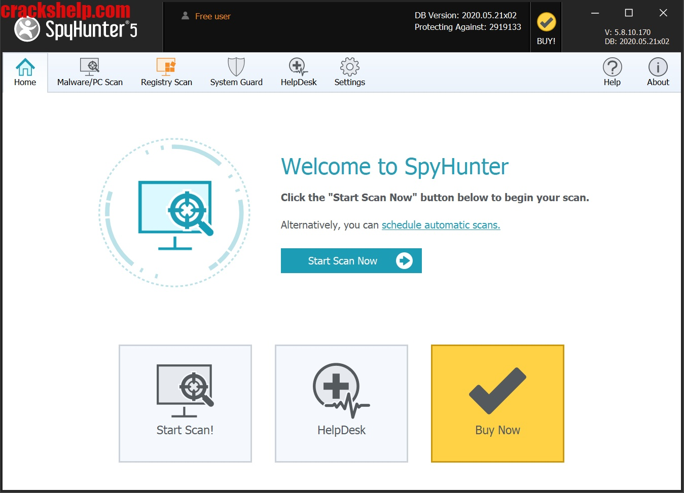 SpyHunter 5 Crack Free Download Full Version