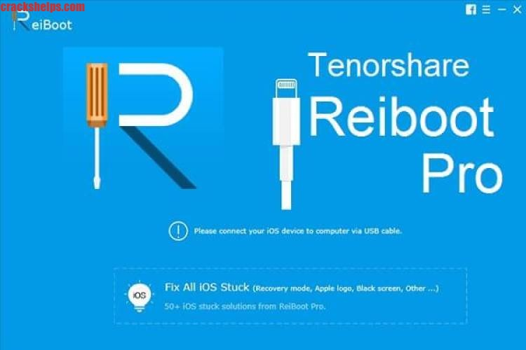 Tenorshare ReiBoot Pro 7.5.8 + Crack Latest Free Download