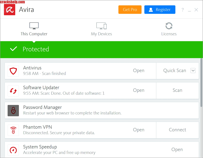 Avira Antivirus Pro 2022 Crack + Activation Code Download Free