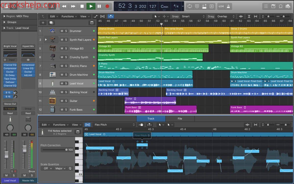 Logic Pro X 10.5.1 Crack Latest Free Download