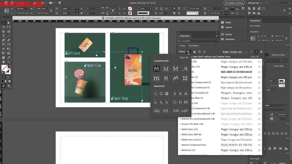 Adobe InDesign crack free