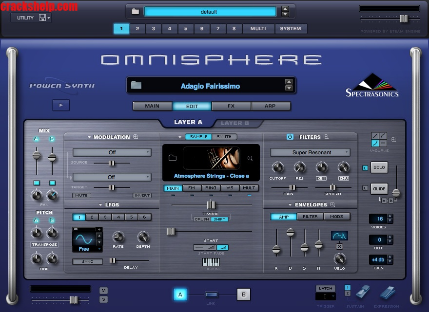 Omnisphere 2.6 Crack + Activation Code 2021 [100% Working] Free