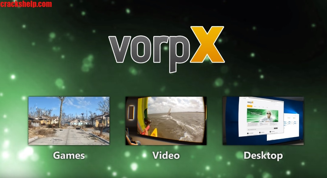 Cracked VorpX VR 3D-Driver Full Download Free Version